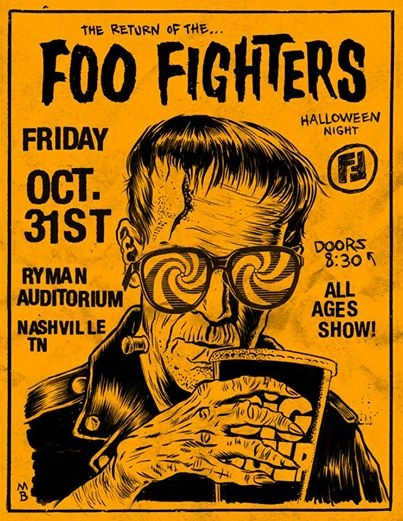 Foo Fighters AtThe Ryman on Halloween: Listen-To-Win