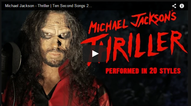 20 Different Styles of 'Thriller' [VIDEO]