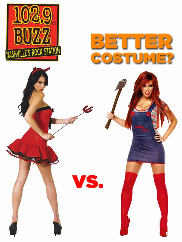 Better Costume?  Satan vs. Chucky