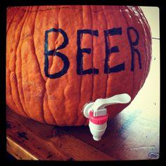 Turn this Freaking Pumpkin into a Beer Keg! [VIDEO]