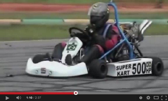 500HP Turbo Go-Kart [VIDEO]