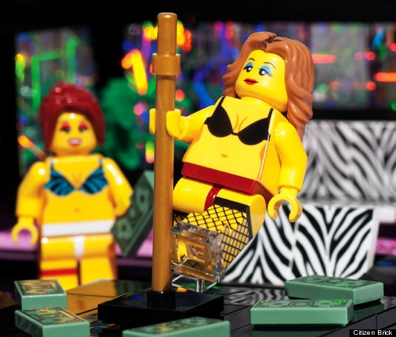 5@5! A Must Have For Christmas. The Lego Strip Club!