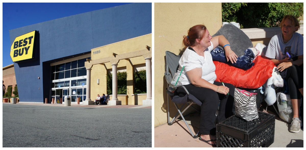 Already Campers for Best Buy Black Friday!