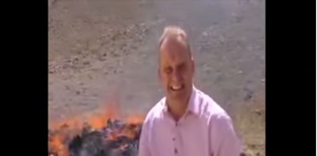 It will take only 6 Seconds for you to LOL!!! BBC Reporter gets baked!!