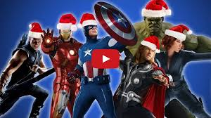 The Avengers Sing Christmas Carols (Video)