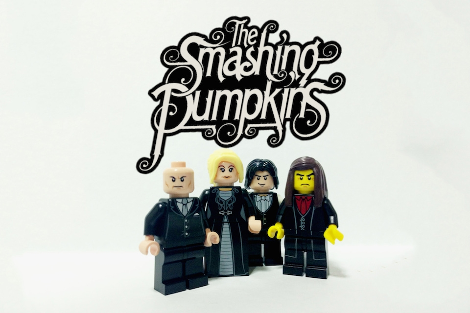 Artist Creates Lego Versions of Your Fave Rock Bands