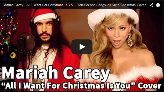 Ten Second Songs: All I Want For Christmas Is You
