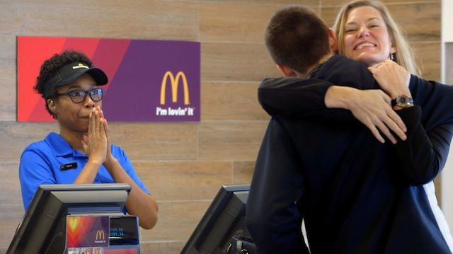 Pay with love at McDonalds [VIDEO]