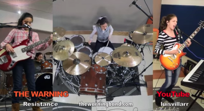 They're Back! The Warning Covers Muse [VIDEO]