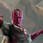 1st look at Vision in The Age of Ultron, opening May 1st