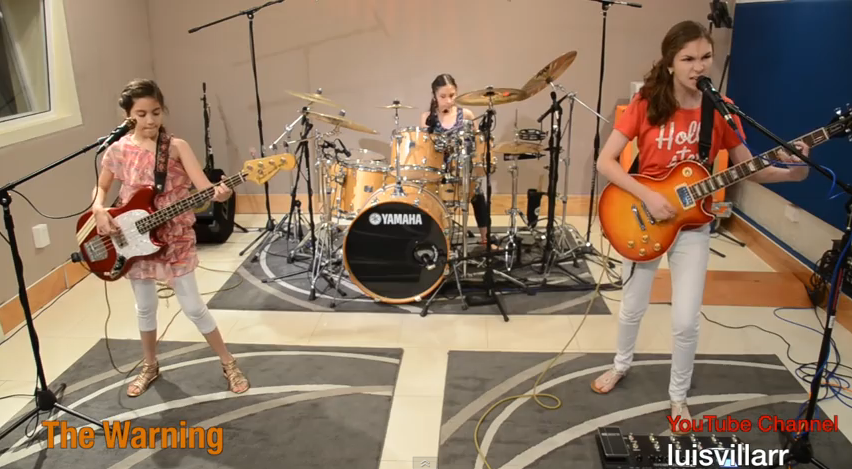 Young Girl Band Covers 'Enter Sandman' [VIDEO]