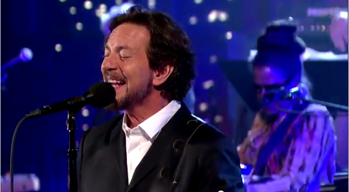 Eddie Vedder Does 'Better Man' on David Letterman [VIDEO]