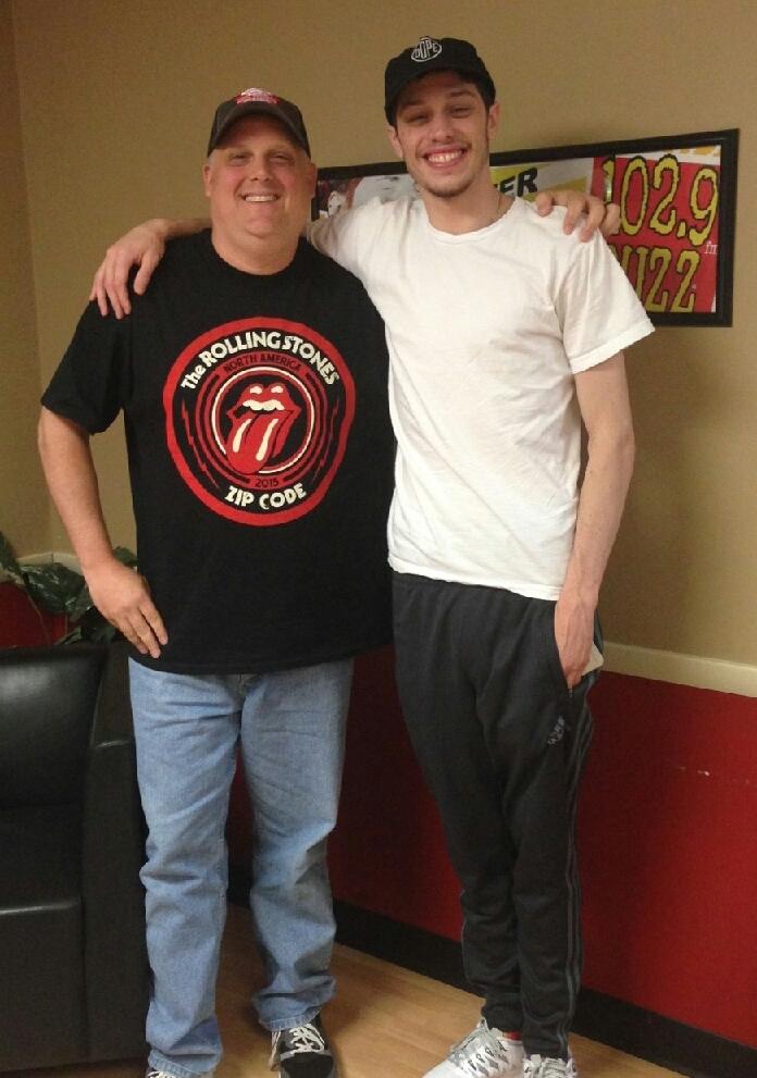 SNL's Pete Davidson stops by The Buzz (AUDIO)