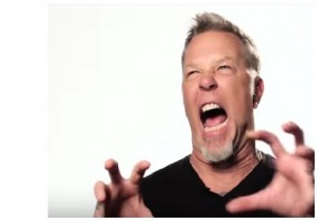 [WATCH] James Hetfield and M. Shadows Audition To Be Zombies For Call Of Duty