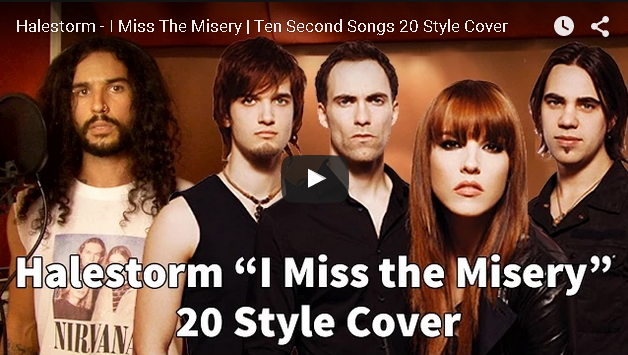 Ten Seconds Songs, Halestorm Style! [VIDEO]