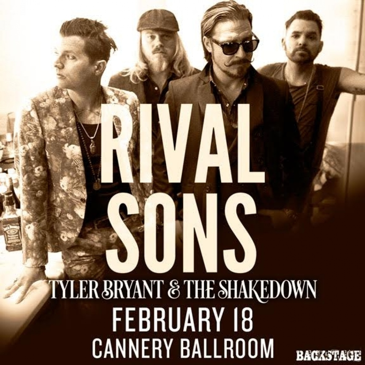 Rival Sons w/ Tyler Bryant & The Shakedown: Register-To-Win